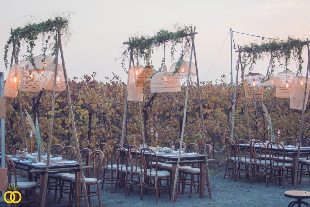 עיצוב חתונה בכרם